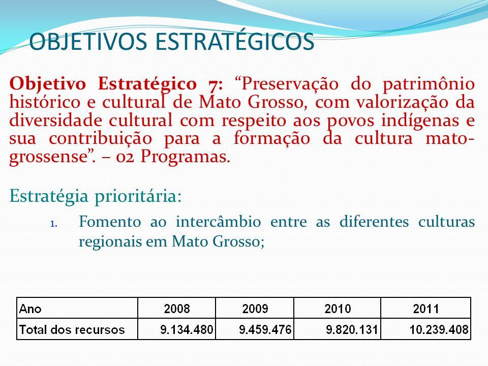 OBJETIVOS ESTRATÉGICOS Objetivo Estratégico 8: Conservação do meio ambiente e da biodiversidade (preservação e manutenção), uso e manejo sustentável dos recursos naturais (solo, água, minerais e bióticos em áreas de conservação), com diminuição das pressões antrópicas, especialmente sobre a floresta– 06 Programas.
