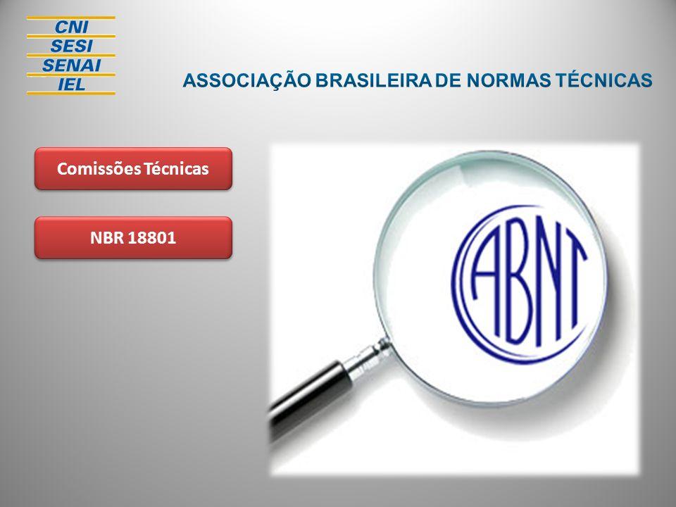 NBR 18801 Comissões Técnicas