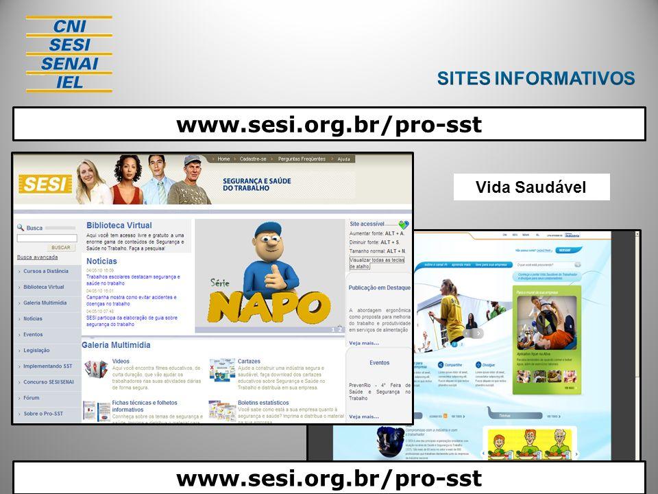 Pro SST Vida Saudável www.sesi.org.br/pro-sst