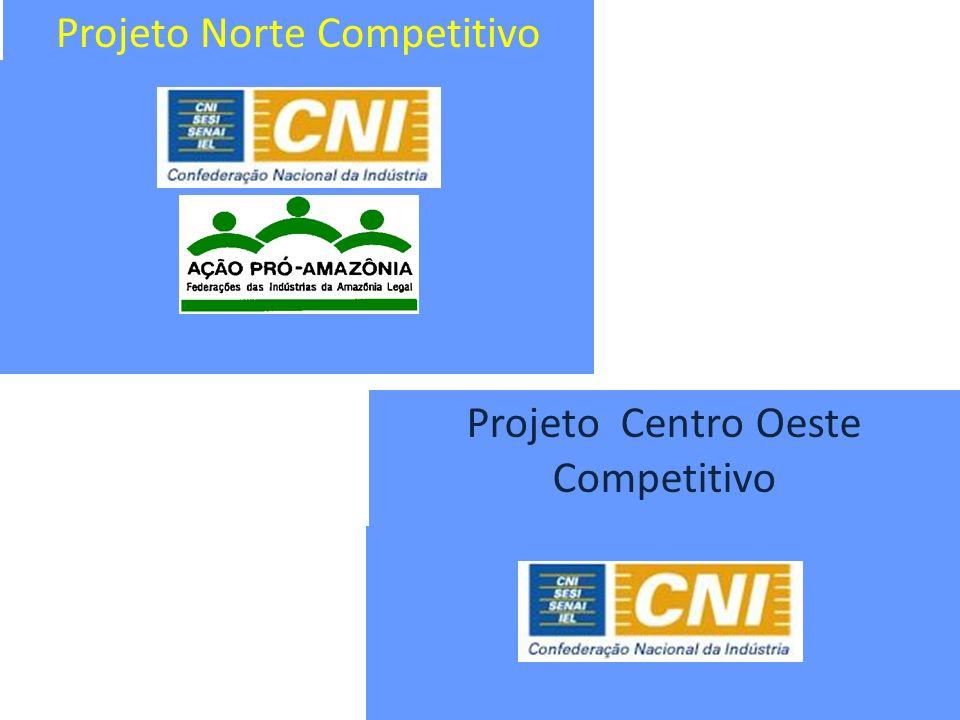 Projeto Norte Competitivo Projeto Centro Oeste Competitivo