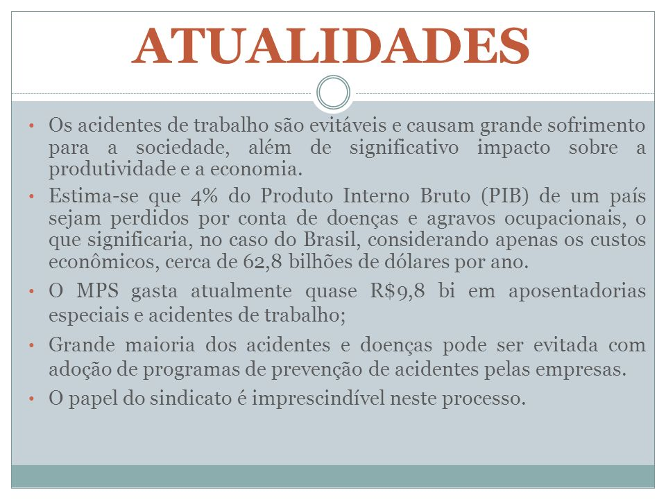 ATIVIDADES ESPECIAIS O Art.