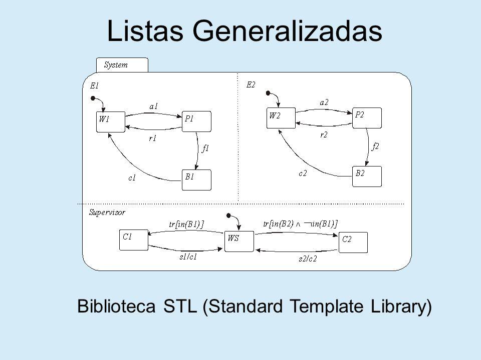 Listas Generalizadas Biblioteca STL (Standard Template Library)
