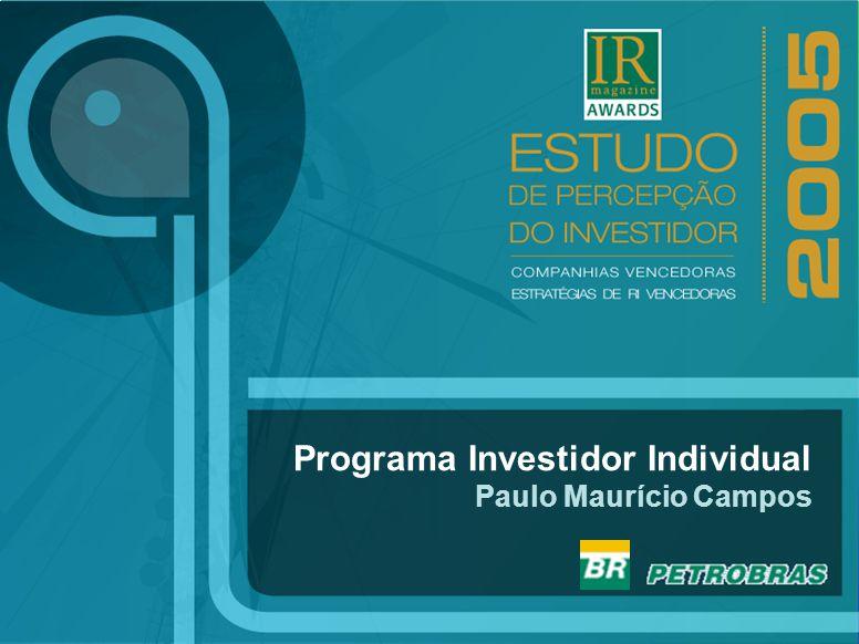 1 Programa Investidor Individual Paulo Maurício Campos