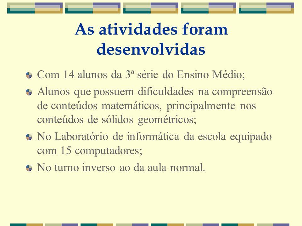 UNIFRA ATIVIDADE 1.2 O propósito dessa atividade é que o aluno utilize as noções de paralelismo e perpendicularismo para identificar as arestas e as faces paralelas e perpendiculares do cubo e do paralelepípedo.