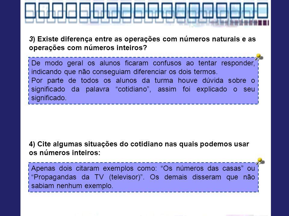 PessoasIdades Luiza43 Naiane33 Luana16 Sérgio13 Felipe12 Sandro11 Ricardo10 4) Analisando a tabela abaixo, respondam as perguntas: a)Qual a idade da pessoa mais nova.