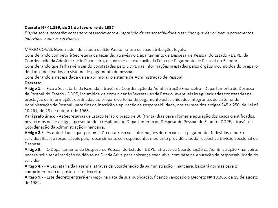 QUADRO DEMONSTRATIVO DE FALTAS Referência: http://www.recursoshumanos.sp.gov.br/servidor/quadro_faltas.pdf