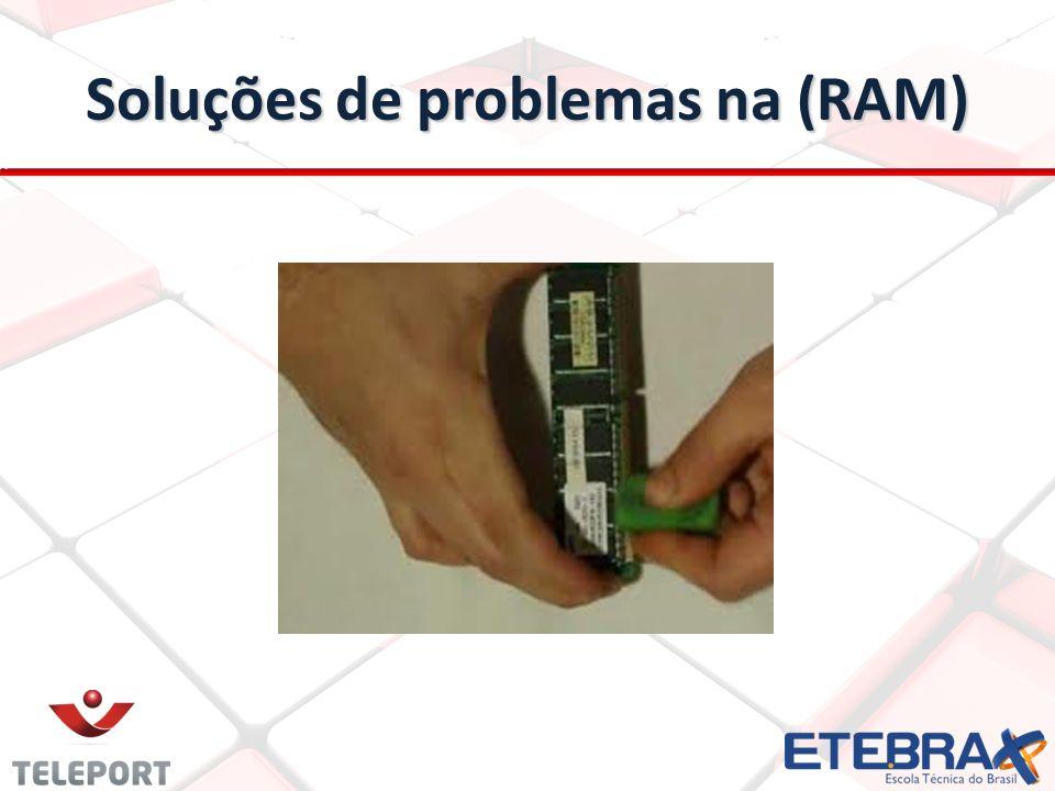 Software para teste de memória (RAM) Mem teste Mem teste Objetivo: analisa sua memória RAM e busca por erros que possam causar instabilidade ou travar o sistema.