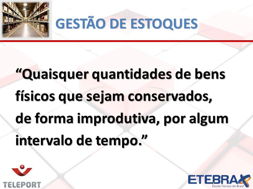 GESTÃO DE ESTOQUES POR QUE AS EMPRESAS PRECISAM DE ESTOQUES.
