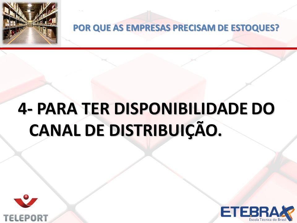 DESAFIOS DA GESTÃO DE ESTOQUE.