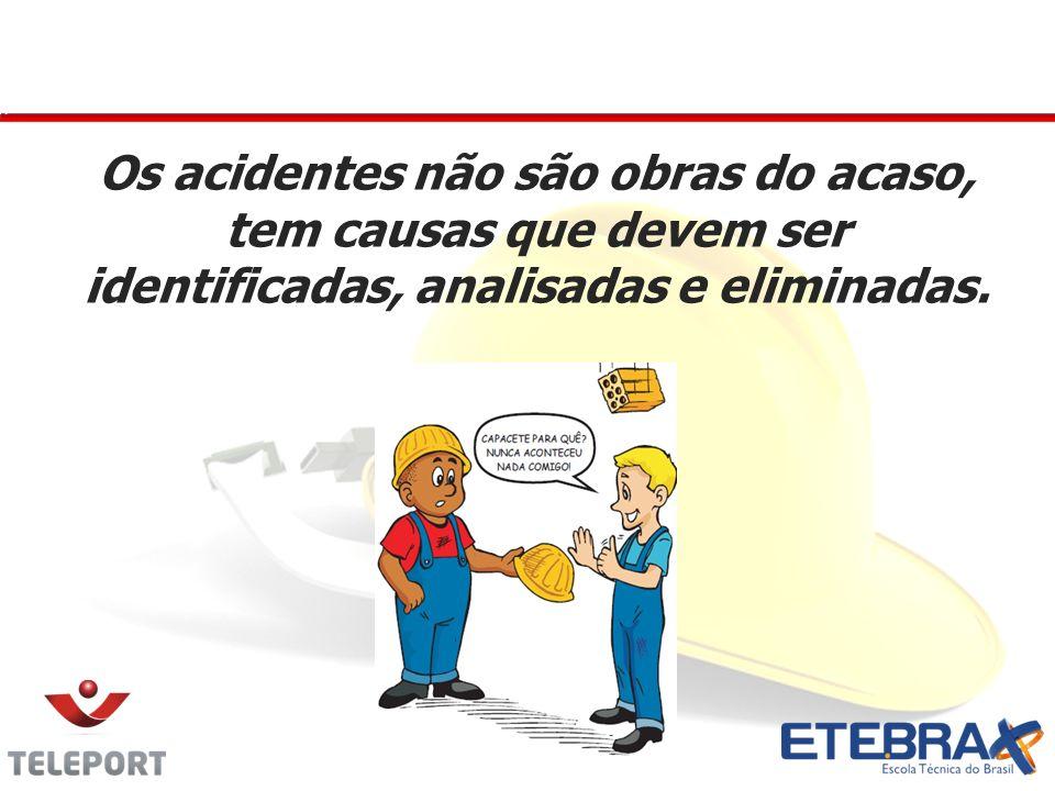 CAUSAS DO ACIDENTE Causas Imediatas São as causas que levaram diretamente a ocorrência de acidente, incidente ou desvio.
