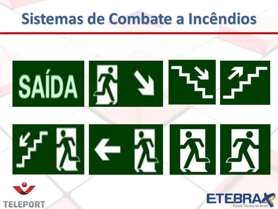 SISTEMAS DE SINALIZAÇÃO DE SAÍDAS DE EMERGÊNCIA - Tem como finalidade proporcionar a indicação visual do caminhamento das rotas de fuga das edificaçõe