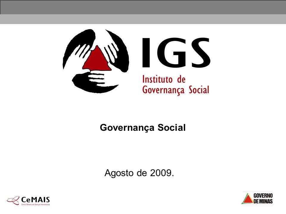 Governança Social Agosto de 2009.