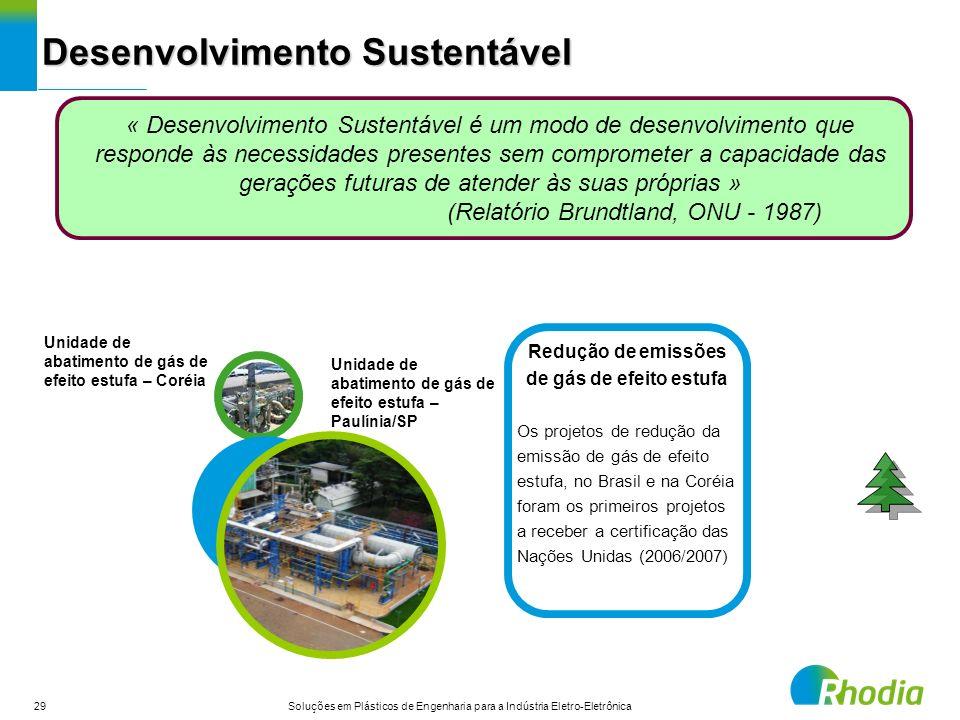 29 Soluções em Plásticos de Engenharia para a Indústria Eletro-Eletrônica Desenvolvimento Sustentável « Desenvolvimento Sustentável é um modo de desen