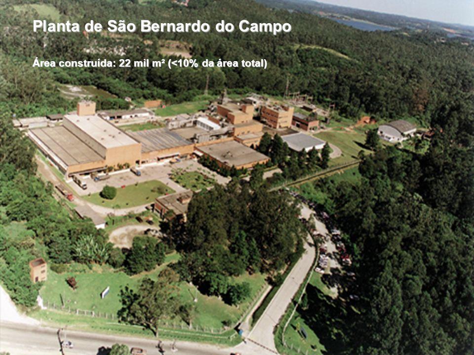 9 Soluções em Plásticos de Engenharia para a Indústria Eletro-Eletrônica Planta de São Bernardo do Campo Área construída: 22 mil m² (<10% da área tota