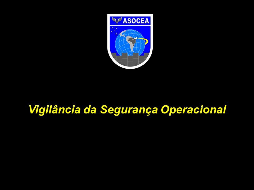 OBJETIVO Apresentar os resultados globais das inspeções de segurança operacional da ASOCEA, realizadas em 2011, bem como uma visão prospectiva da evolução da sistemática de vigilância da segurança operacional dos serviços de navegação aérea, com base nos novos conceitos preconizados pela ICAO.
