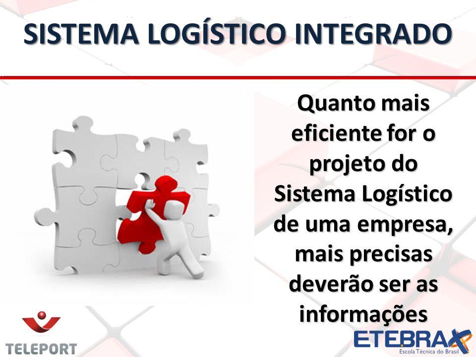 Quanto mais eficiente for o projeto do Sistema Logístico de uma empresa, mais precisas deverão ser as informações