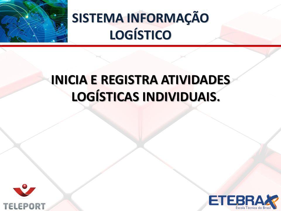 SISTEMA INFORMAÇÃO LOGÍSTICO INICIA E REGISTRA ATIVIDADES LOGÍSTICAS INDIVIDUAIS.