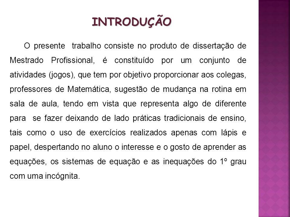O trabalho desenvolveu-se com uma turma de 6ª série do Ensino Fundamental de uma escola municipal do interior do Rio Grande do Sul.