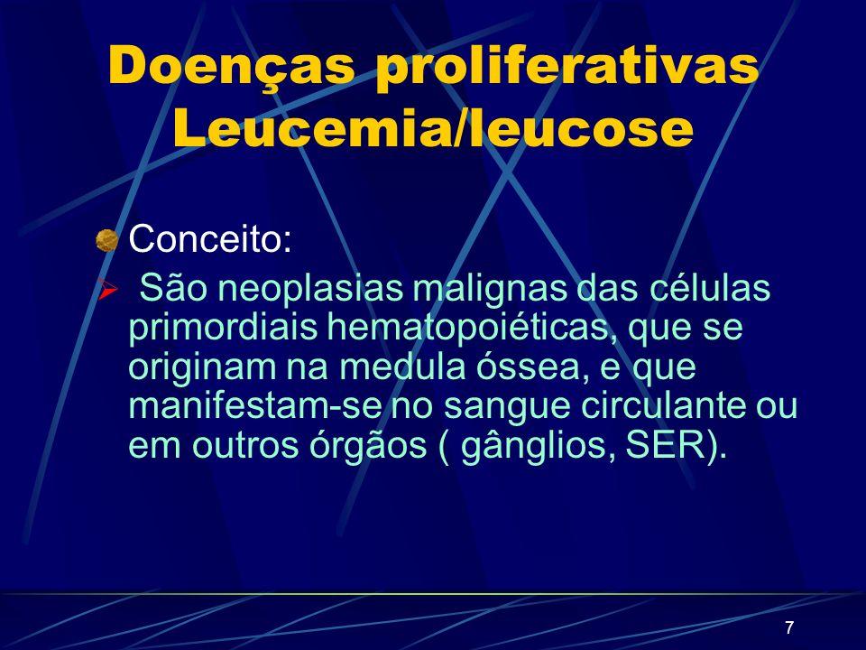 6 Reação leucemoide linfocítica Causas Mononucleoso infecciosa Citomegalovirose Tuberculose Coqueluche