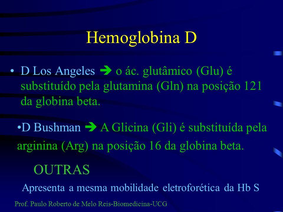 CÉLULAS EM ALVO NA Hb C/TAL BETA Prof. Paulo Roberto de Melo Reis-Biomedicina-UCG