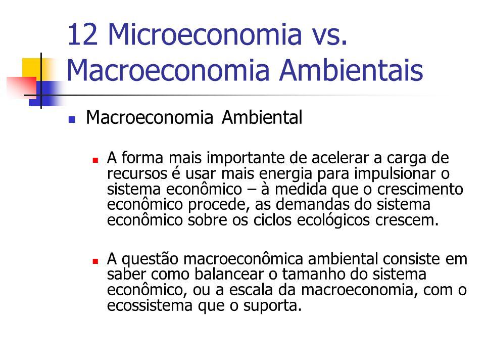 Macroeconomia Ambiental A forma mais importante de acelerar a carga de recursos é usar mais energia para impulsionar o sistema econômico – à medida qu
