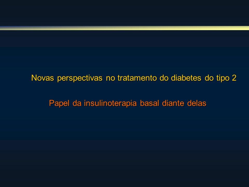 Novas perspectivas no tratamento do diabetes do tipo 2 Papel da insulinoterapia basal diante delas