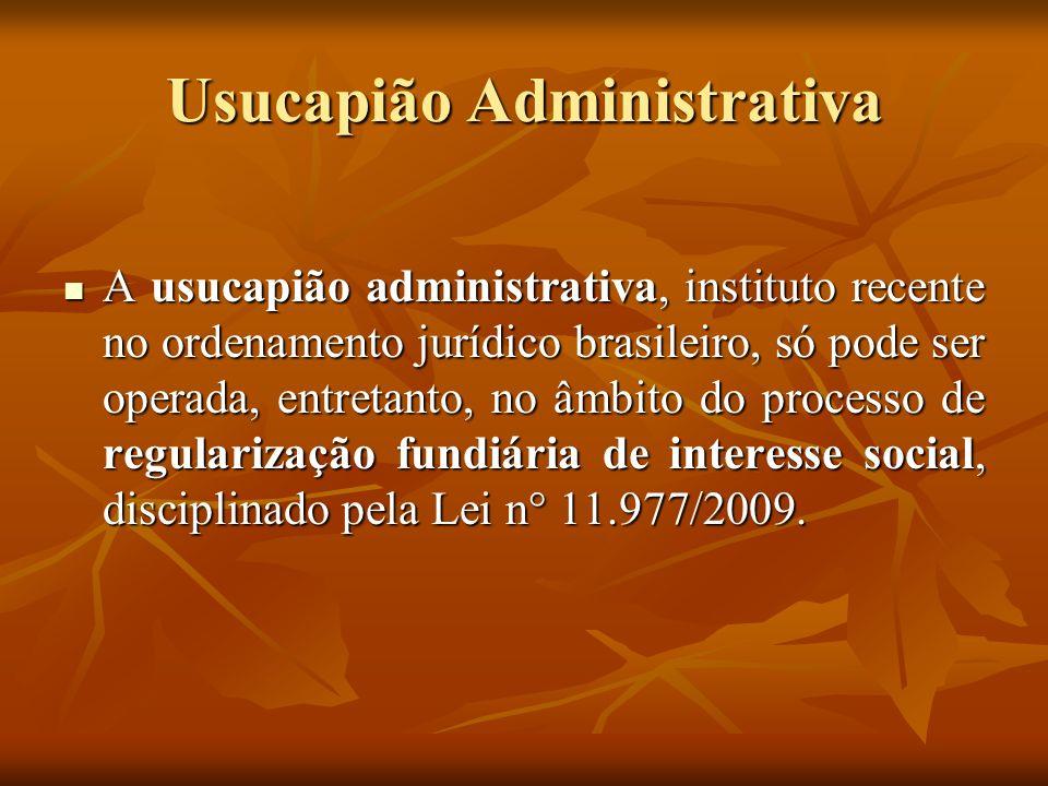 O Procedimento da Regularização Fundiária de Interesse Social (Art.