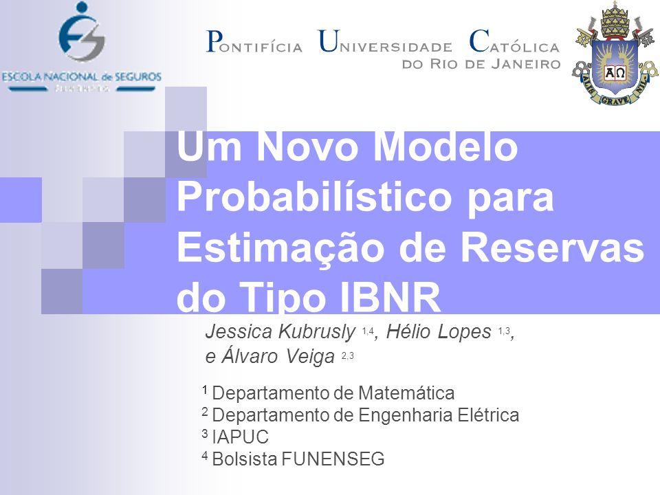 Introdução IBNR (Incurred But Not Reported): Representa a soma de todos os sinistros ocorridos mas ainda não avisados à seguradora.