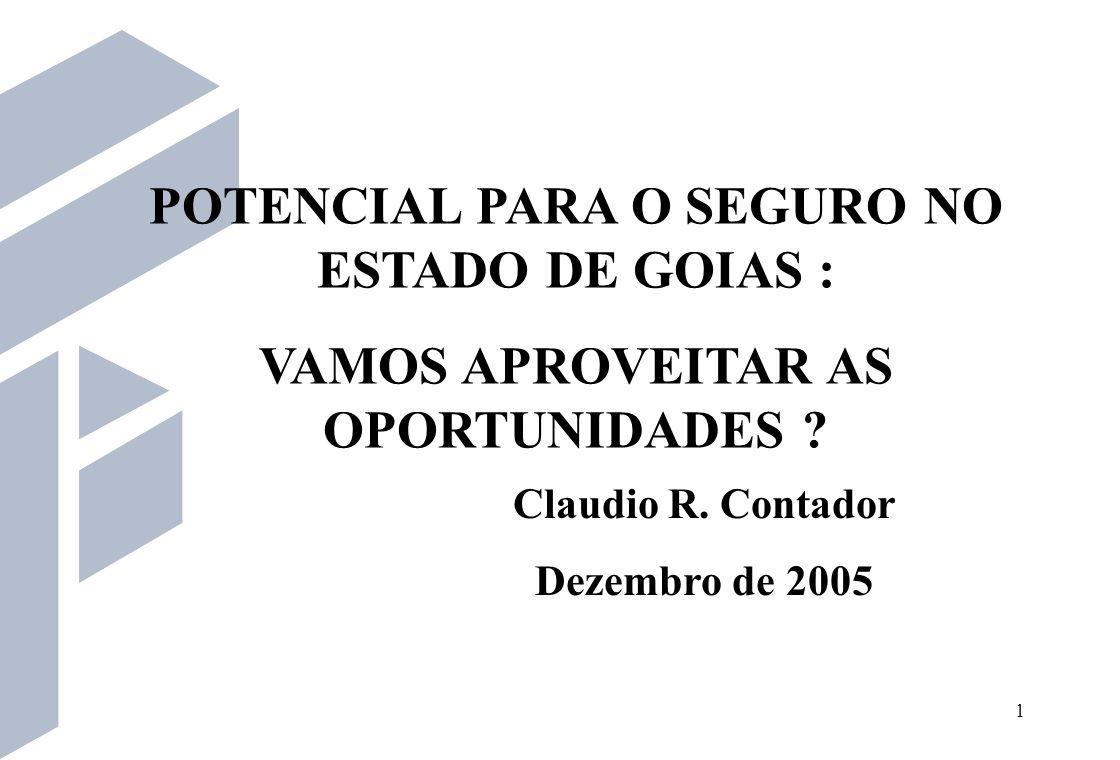 22 Potencial de consumo em Goiás Aberto por região