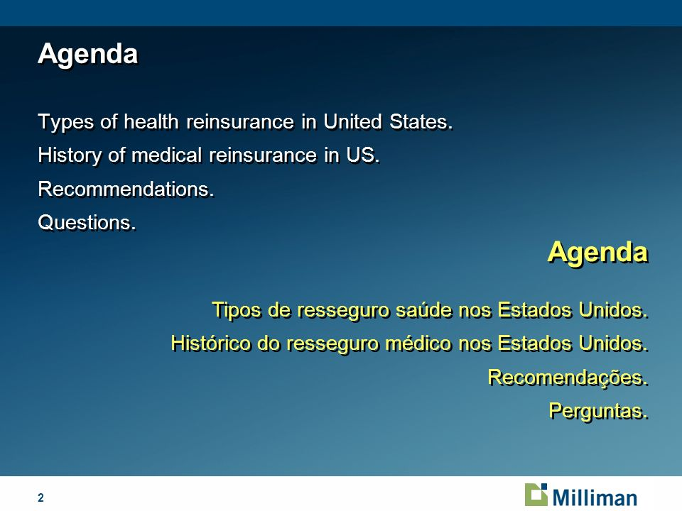 April 1, 2014 Types of Health Insurance in US Tipos de Seguro Saúde nos Estados Unidos