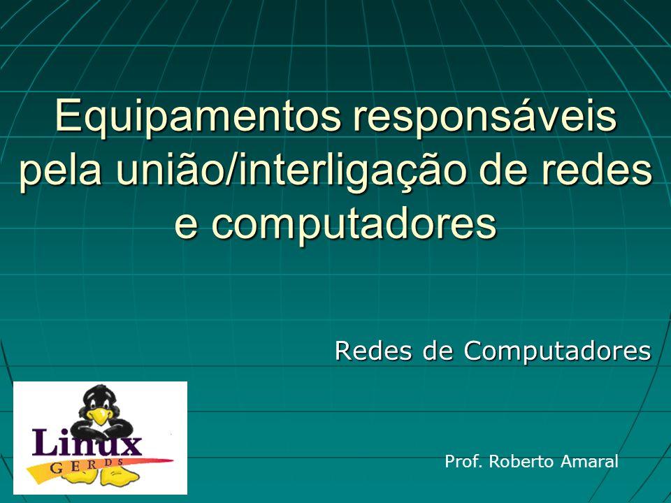 23/02/11 07:20 PM Prof. Roberto Amaral 23 Hub Token Ring