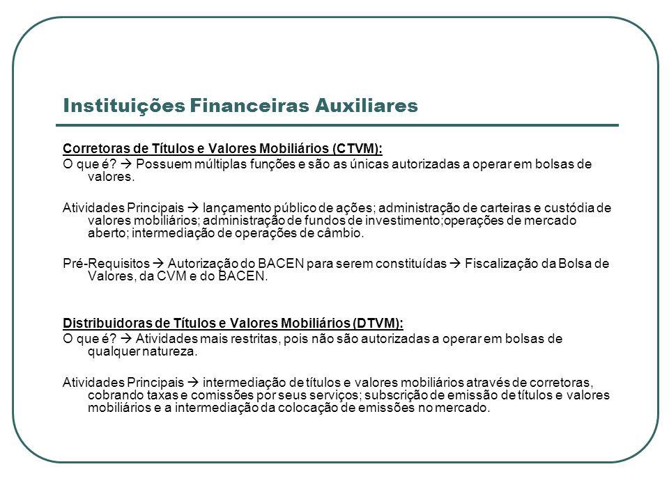 Instituições Financeiras Auxiliares Corretoras de Títulos e Valores Mobiliários (CTVM): O que é? Possuem múltiplas funções e são as únicas autorizadas