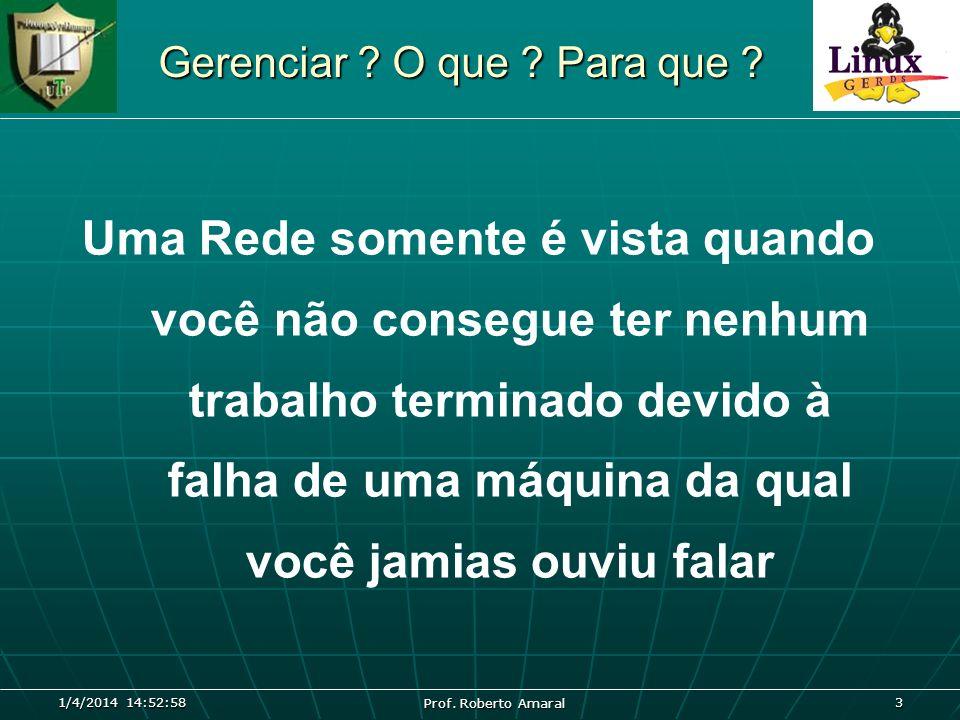 1/4/2014 14:54:39 Prof.Roberto Amaral 4 Conectividade.