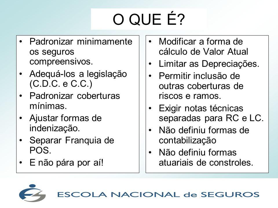 Condições Gerais comentadas: a acumulação de coberturas e seus respectivos limites máximos de indenização contratados.