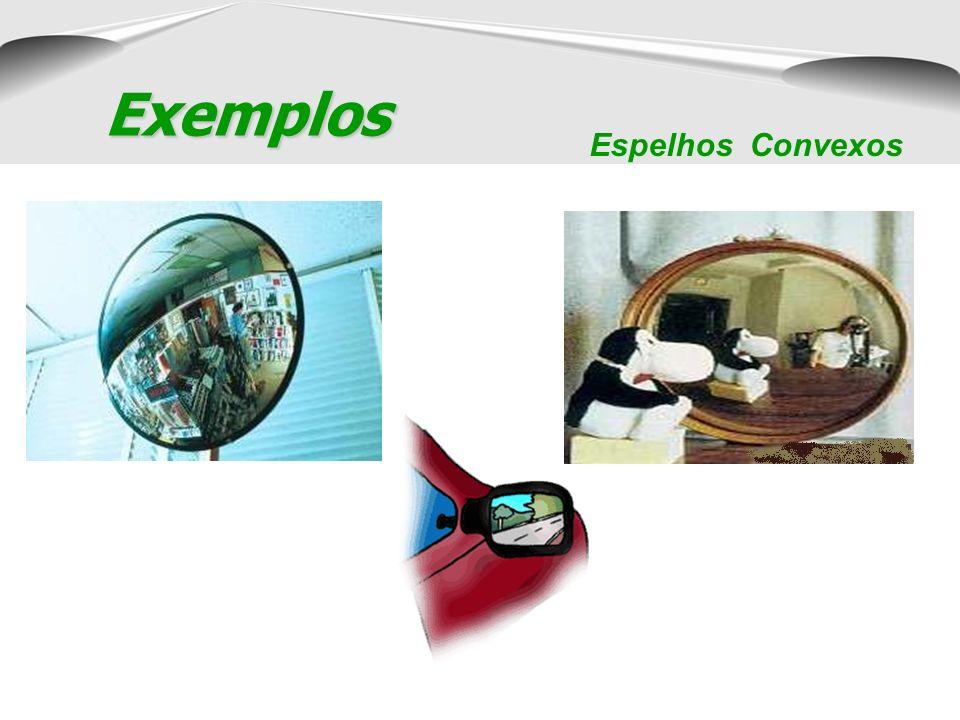 Exemplos Espelhos Côncavos