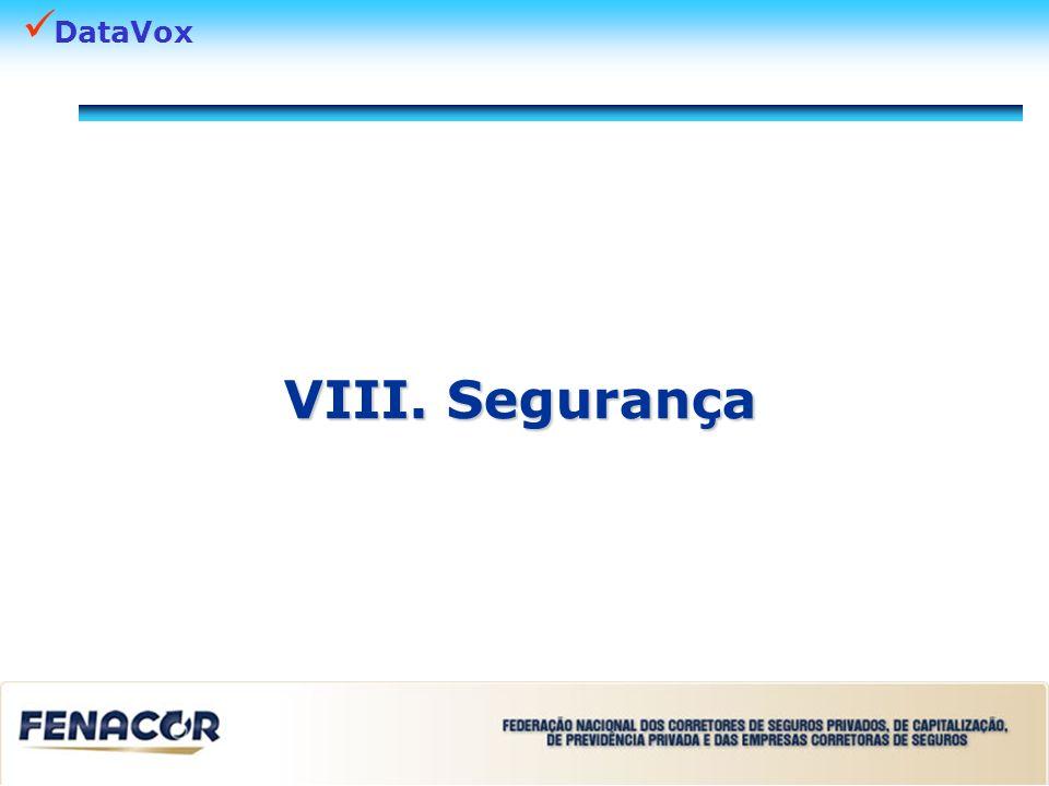 DataVox VIII. Segurança