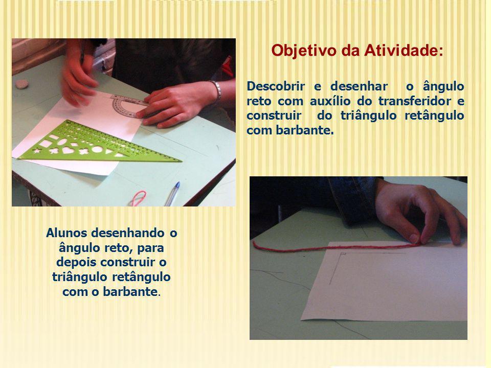 Avaliação A avaliação dos alunos foi realizada diariamente, em todas as fases do projeto.