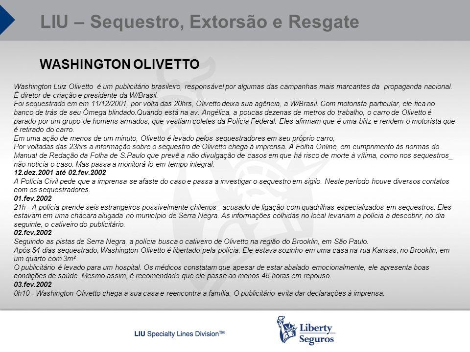 WASHINGTON OLIVETTO Washington Luiz Olivetto é um publicitário brasileiro, responsável por algumas das campanhas mais marcantes da propaganda nacional