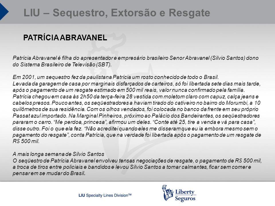 PATRÍCIA ABRAVANEL Patrícia Abravanel é filha do apresentador e empresário brasileiro Senor Abravanel (Silvio Santos) dono do Sistema Brasileiro de Te
