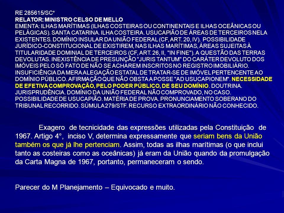 28 CONFUSÃO - BENS DA UNIÃO x TERRENOS DE MARINHA DESINFORMAÇÃO – ANTIPATIA PELO TEMA SF-PEC 40/1999 (SENADOR PAULO HARTUNG) – VITÓRIA/ES - RESISTÊNCIA - RETIRADO SF-PEC 40/1999 (SENADOR PAULO HARTUNG) – VITÓRIA/ES - RESISTÊNCIA - RETIRADO PROJETO DE LEI SF-PLS-617/1999 – ALTERA O CAPUT DO ART.