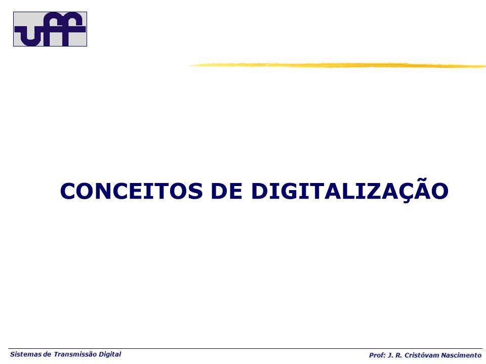 Sistemas de Transmissão Digital Prof: J. R. Cristóvam Nascimento