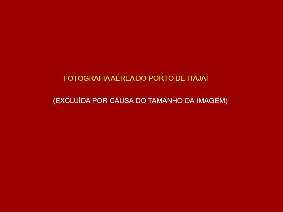 FOTOGRAFIA AÉREA DO PORTO DE ITAJAÍ (EXCLUÍDA POR CAUSA DO TAMANHO DA IMAGEM)