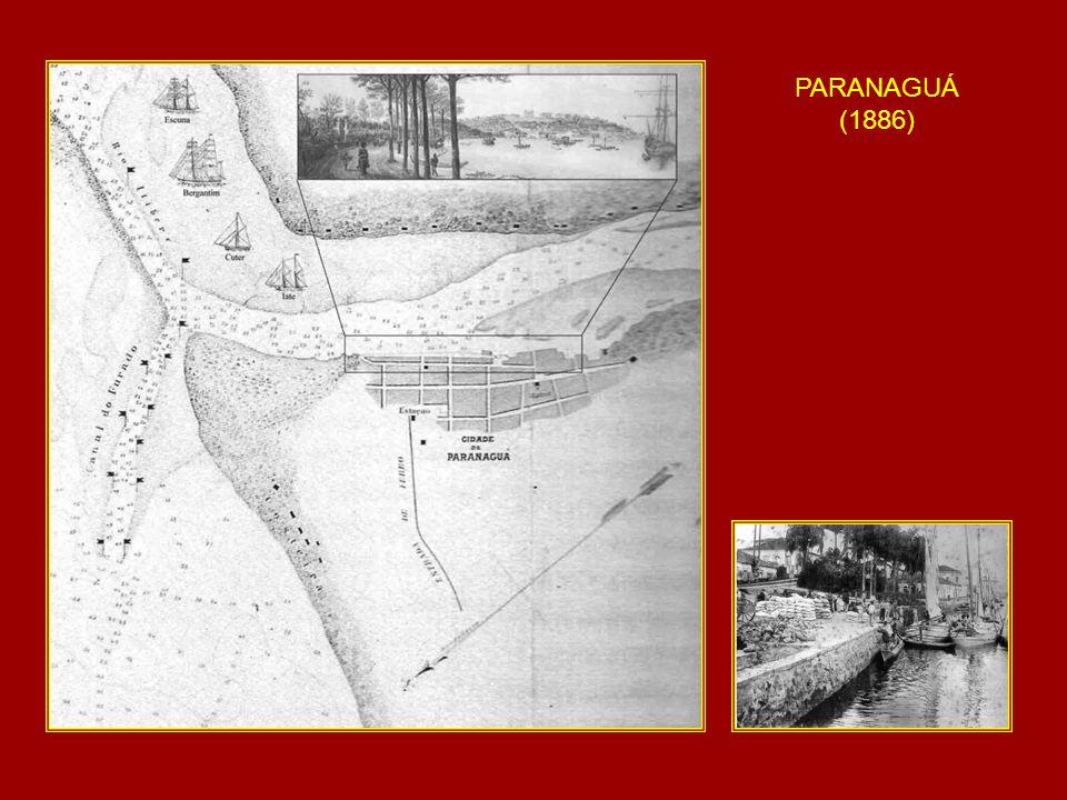 SITUAÇÃO ATUAL - ESTADO DO PARANÁ: por ter um litoral pequeno, a via de acesso aos portos e terminais portuários é basicamente a mesma, havendo problemas de assoreamento intenso na desembocadura da Baía de Paranaguá, bem como à montante da cidade de Paranaguá (acesso à Antonina).