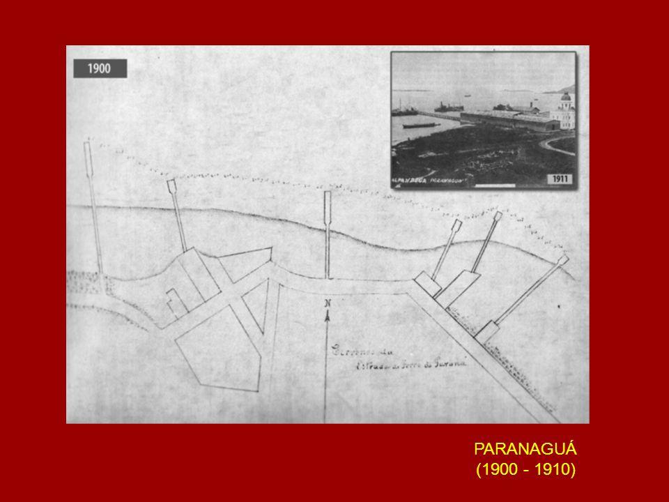 FOTOGRAFIA AÉREA DE PARANAGUÁ (DÉCADA DE 1950) (EXCLUÍDA POR CAUSA DO TAMANHO DA IMAGEM)
