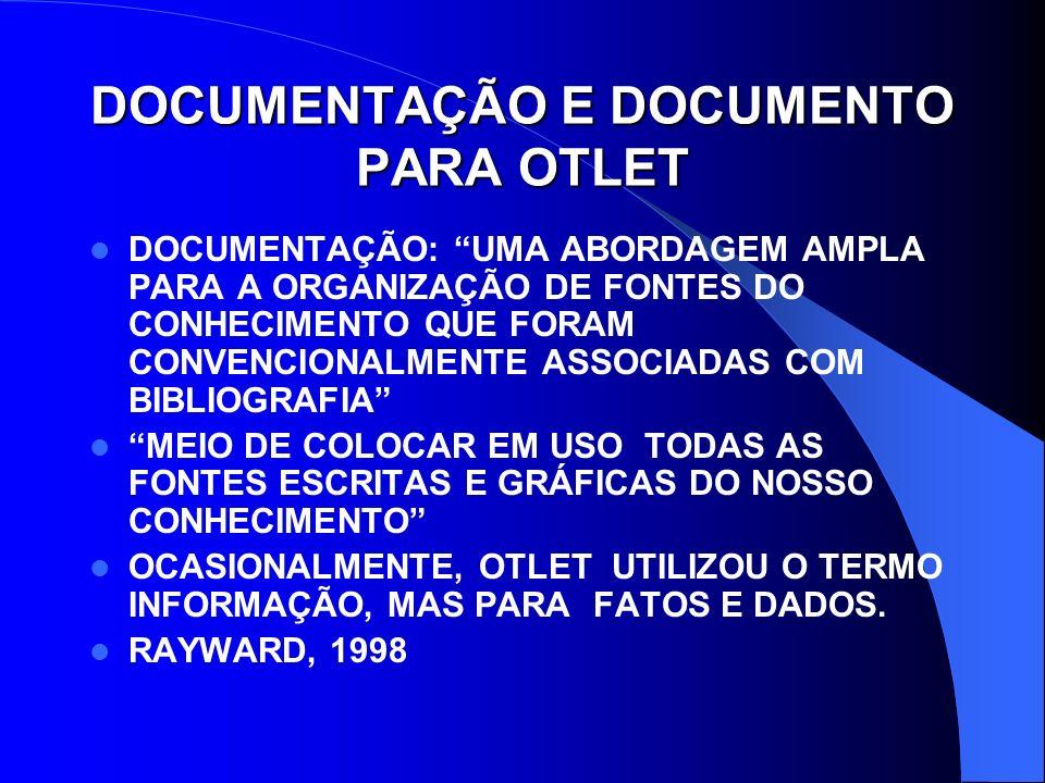REDE UNIVERSAL PARA DOCUMENTAÇÃO INTERNET.