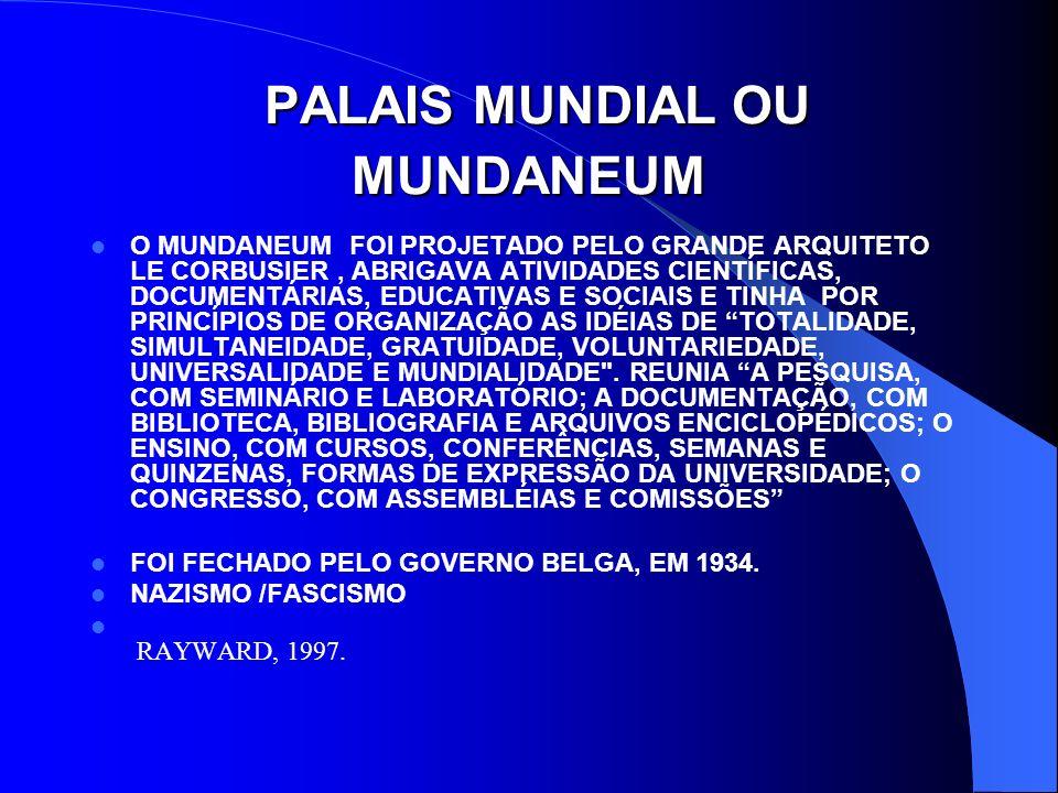 MULTIMÍDIA E O LIVRO 1925, OTLET E GOLDSCHMIDT ESPECULAM SOBRE O MICROFILME.