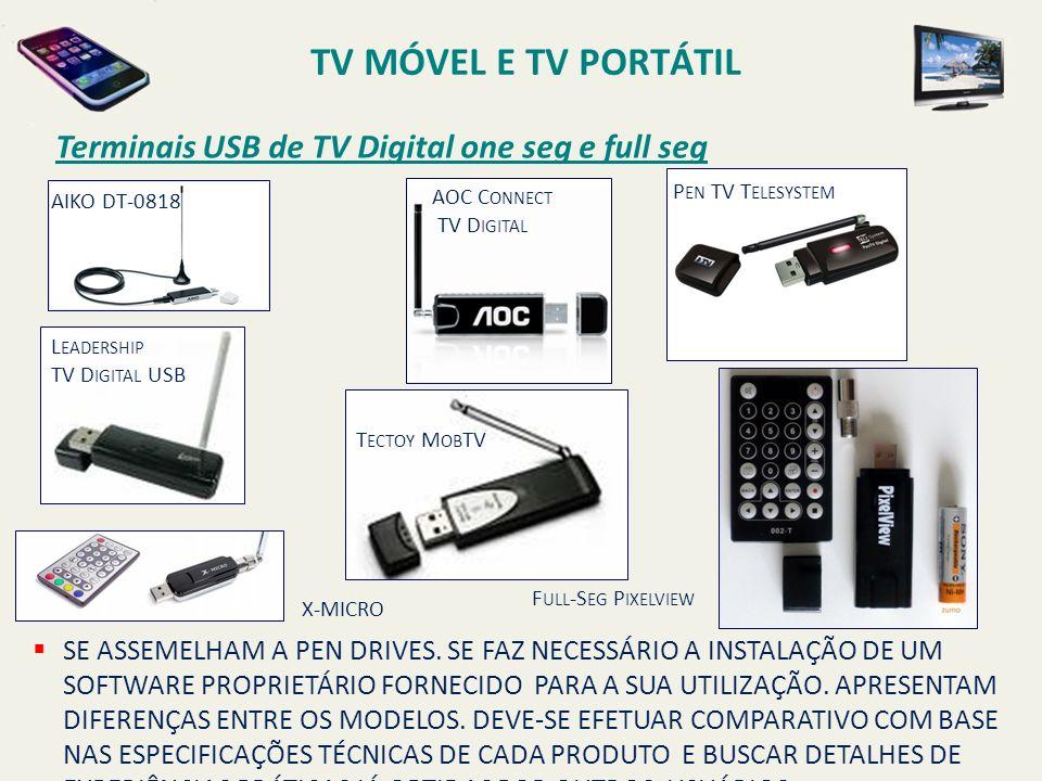 AOC C ONNECT TV D IGITAL AIKO DT-0818 P EN TV T ELESYSTEM L EADERSHIP TV D IGITAL USB T ECTOY M OB TV F ULL -S EG P IXELVIEW X-MICRO SE ASSEMELHAM A P