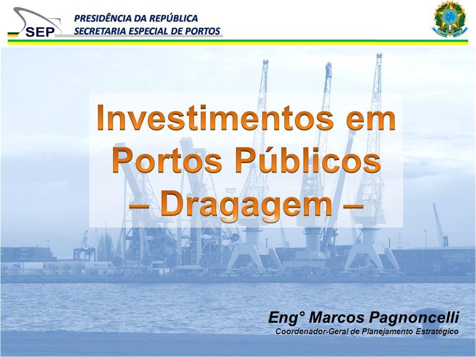 Eng° Marcos Pagnoncelli Coordenador-Geral de Planejamento Estratégico