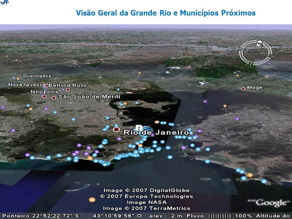 Visão Geral da Grande Rio e Municípios Próximos