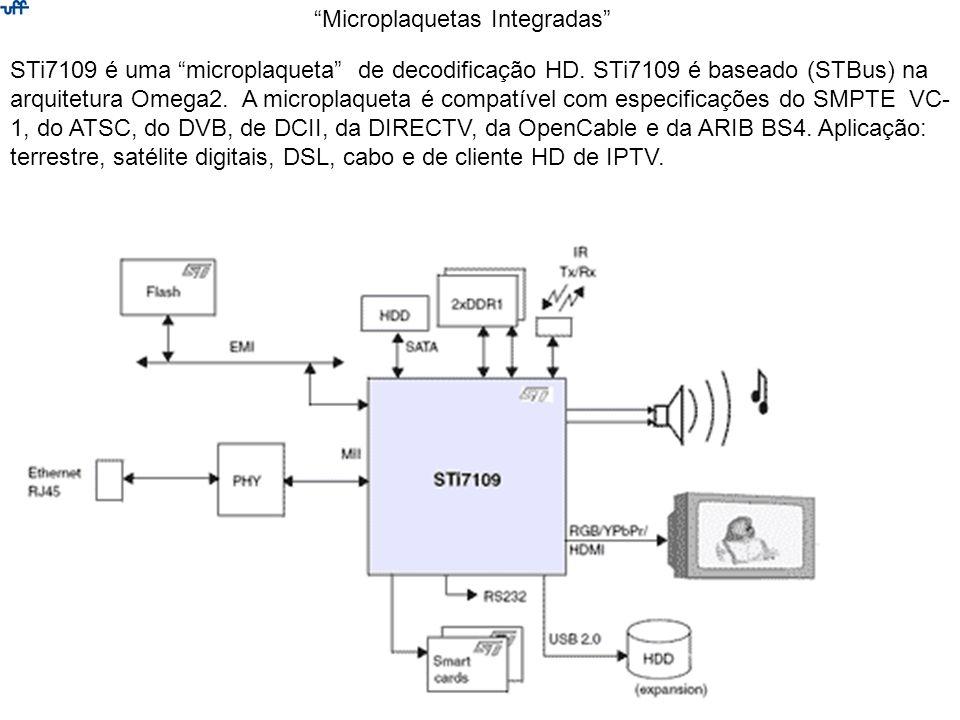 STi7109 é uma microplaqueta de decodificação HD. STi7109 é baseado (STBus) na arquitetura Omega2. A microplaqueta é compatível com especificações do S